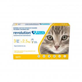 Revolution Plus Gatos 0.50 ml TBX3